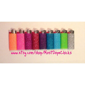 Mini Glitter Lighter