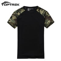 Man Casual Camouflage T-shirt Men Cotton Army Tactical Combat T Shirt Military Camo Mens T Shirts Fashion Tops & Tees