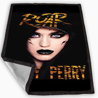 Katy Perry Roar Leopard Cover Design Blanket for Kids Blanket, Fleece Blanket Cute and Awesome Blanket for your bedding, Blanket fleece *