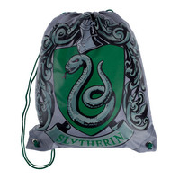 Universal Studios Harry Potter Drawstring Slytherin Backpack New With Tags