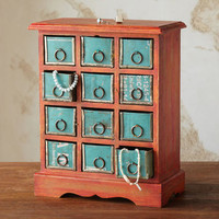 DOZEN DRAWER JEWELRY BUREAU - Jewelry Storage - Jewelry - Categories | Robert Redford's Sundance Catalog