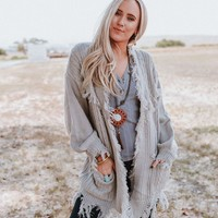 Torn to Shreds Cardigan Sweater