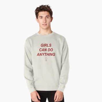 'Girls Can Do Anything' T-Shirt by ShopEH