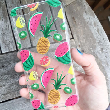 Summer Fruits iPhone 5se 5s 6 6s Plus Case Cover