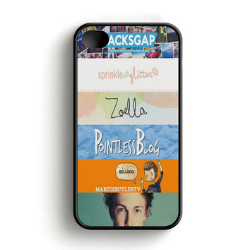 Quotes The Youtubers 2 iPhone 4|4S Case