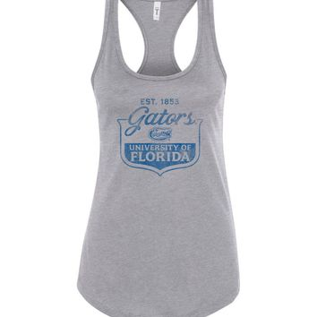 Official NCAA University of Florida Gators The Orange and Blue GATOR NATION! 1853 Racerback Tank - 07uf-1