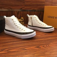Louis Vuitton Lv Sneakers Boot White - Best Online Sale