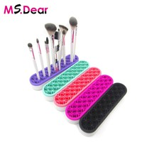 Silicone Makeup brush Organizer