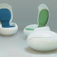 Contemporary Egg Chair- OpulentItems.com