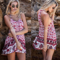 Elephant Boho Sundress