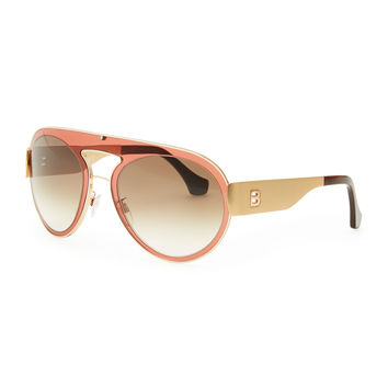 Aviator Sunglasses, Granate - Balenciaga