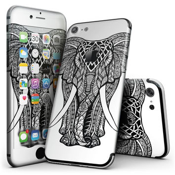 Sacred Ornate Elephant - 4-Piece Skin Kit for the iPhone 7 or 7 Plus