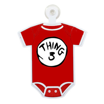 Dr. Suess Thing 3 Custom Printable Digital Iron On Transfer Clip Art DIY Tshirts Onesuits Instant Download