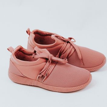 Trainer Sneakers (Blush)