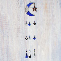 Mosaic Moon Wind Chime