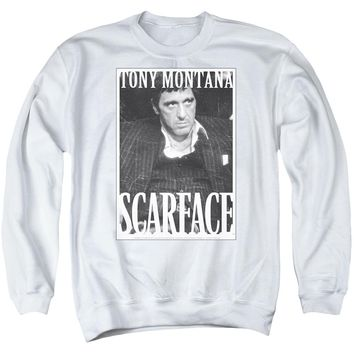 Scarface - Business Face Adult Crewneck Sweatshirt