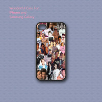 5 SOS and One Direction Collage - Print on hard cover for iPhone case and Samsung Galaxy case