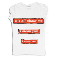 "T-Shirt ""All About Me"""