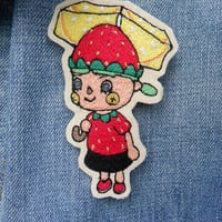 Custom Animal Crossing Character Embroidered Patch/Brooch