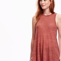 Old Navy Burnout High Neck Tank