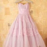 Vintage Pink Party Dress at Free People Clothing Boutique