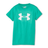 Under Armour Kids UA Big Logo S/S Tee (Big Kids) Chaos/White - Zappos.com Free Shipping BOTH Ways