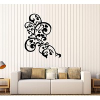 Vinyl Wall Decal Patterns Romantic Love Heart Ornament Stickers Unique Gift (445ig)