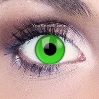 Funky Eyes Green UV Contact Lenses | Coloured Contact Lenses