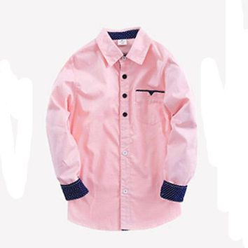 Boys Preppy Dress Shirts