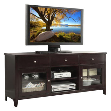 Abbyson Living Sadie Media Console - Espresso Finish