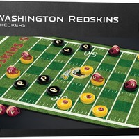NFL Checkers Game - Washington Redskins