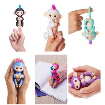 Fingerlings Smart interactive Toy Monkeys. 6 colors available.  Makes Sounds,Eyes can turn, joints are movable.  Kids Christmas gifts