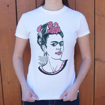 Frida Kahlo [Quote] Women's T-Shirt