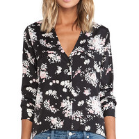 Stillwater Blouse in Black