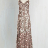 Spaghetti Straps Maxi Fancy From Now On Dress