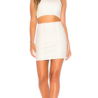 by the way. James Square Neck Mini Set in Ivory | REVOLVE