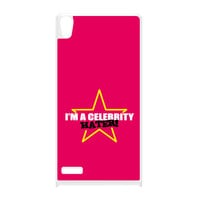Celebrity Hater White Hard Plastic Case for Huawei P6 by Chargrilled