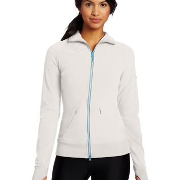 Westcomb Womens Fall Salish Warm Winter Fleece Sweater Coat Jacket Cloud White