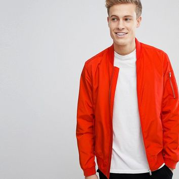 Jack & Jones Core Bomber Jacket at asos.com