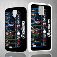 The Avengers Iron Man Tony Stark Z0218 Samsung Galaxy S3 S4 S5 (Mini), Note 2 3 4, HTC One M7 M8 Cases