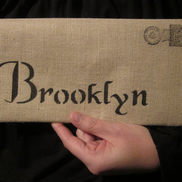 Brooklyn Cotton Canvas Envelope HandBag City Bag