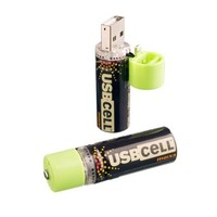 USBCELL MXAA02 AA Rechargable Battery - 2 Cell Pack