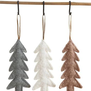 Fabric Tree Ornament