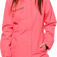 Roxy Band Camp Diva Pink 10K Snowboard Jacket