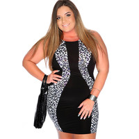 Package Hip Mini Plus Size Dress
