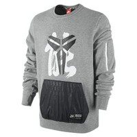 Nike Kobe Hybrid Crew Men's Sweatshirt - Dark Grey Heather