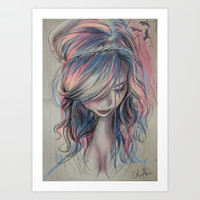 Colourblind Art Print by Chelsea Hantken