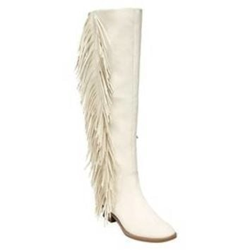 Women's Sam & Libby Jade Fringe Tall Fashion Boots