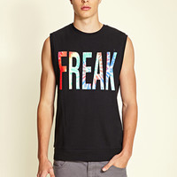 Freak Muscle Tee Black