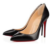 Pigalle Follies 100mm Black Leather